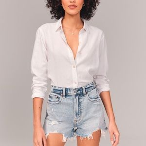 High Rise Mom Short Size 27 NWT